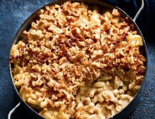 Marmite macaroni cheese