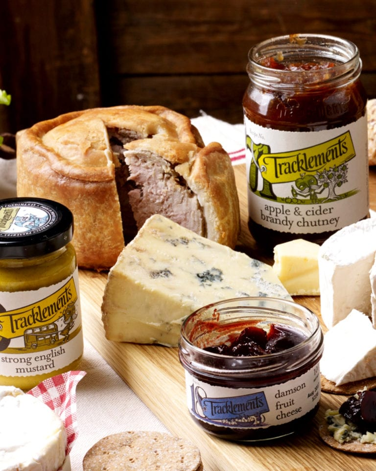 Win a year's supply of Tracklements goodies