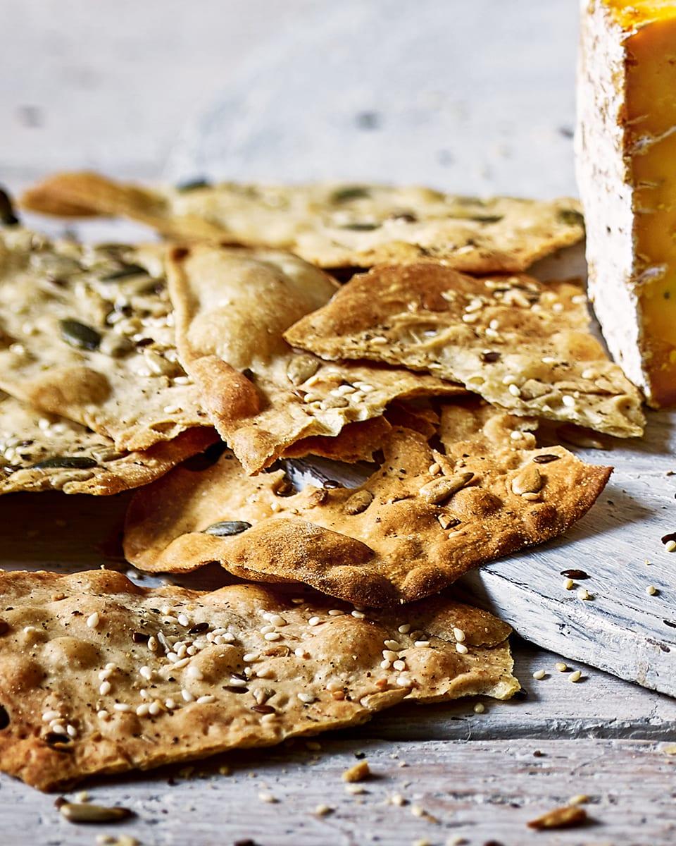 Homemade Rye Crackers Delicious Magazine