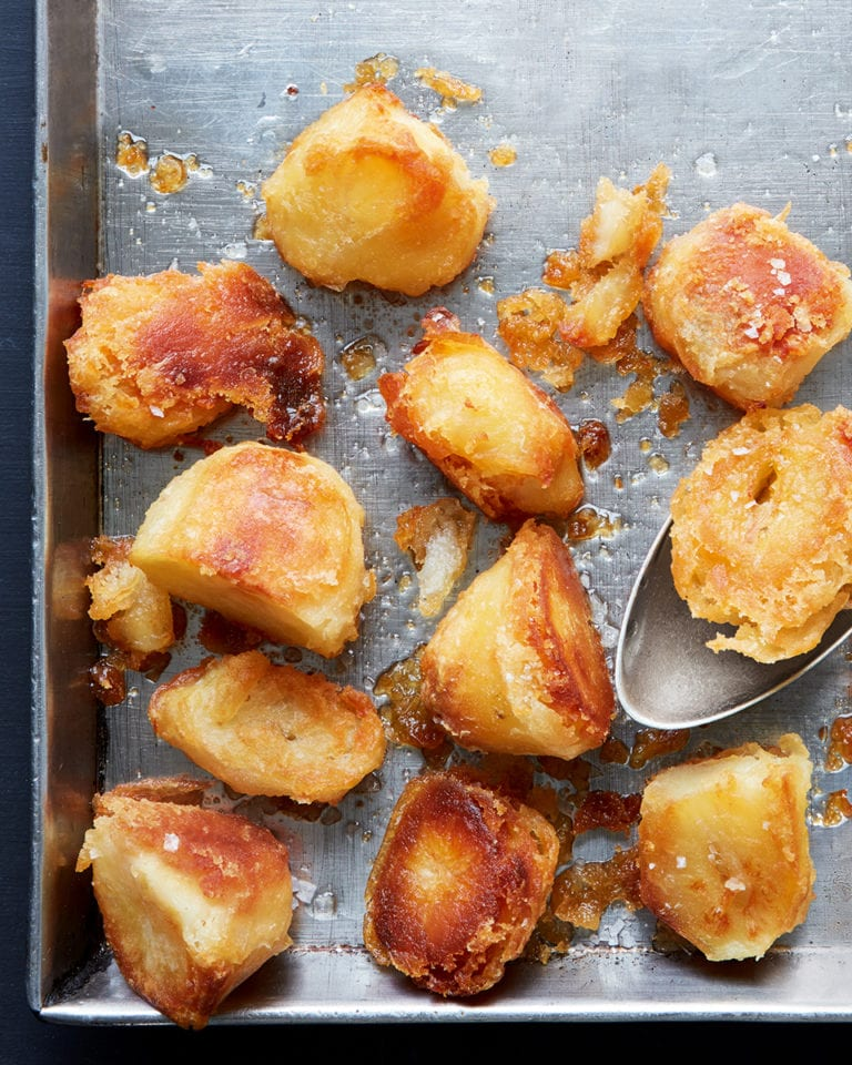 Perfect roast potatoes for Christmas
