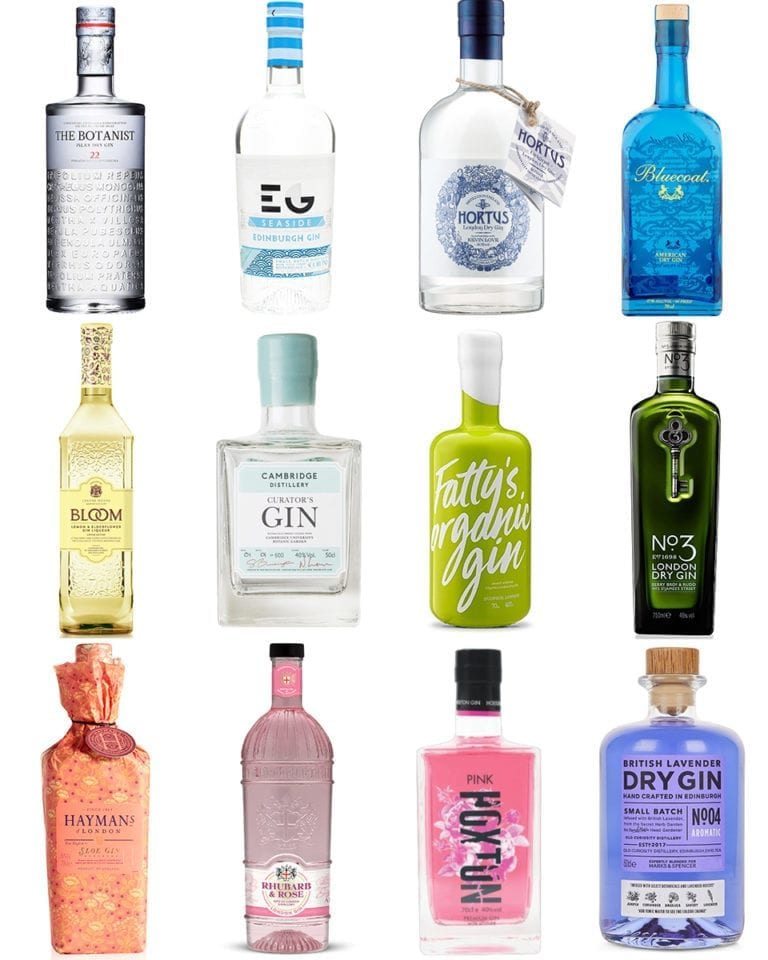 Its a gin RAINBOW! Our favourite colourful gins for 2019