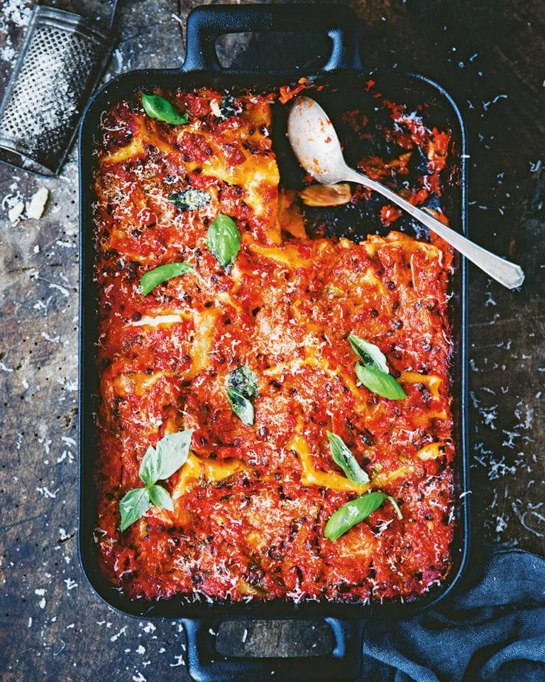 All-in-one lasagne