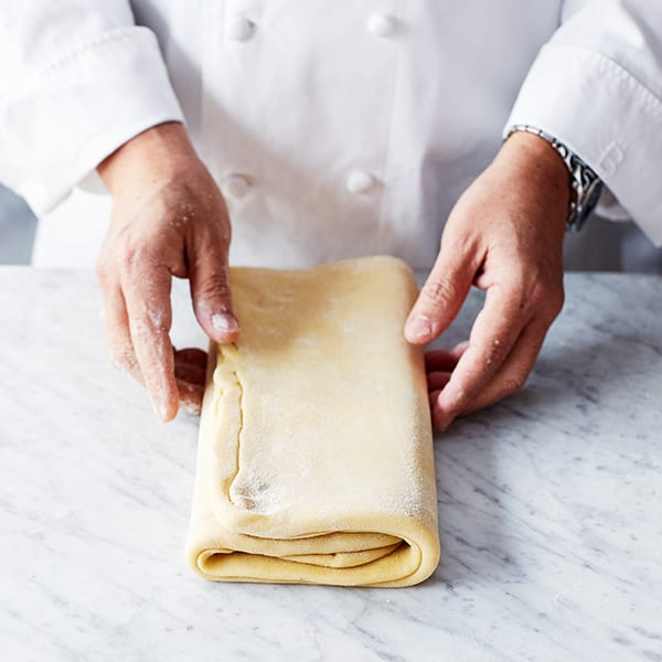 book fold pastry