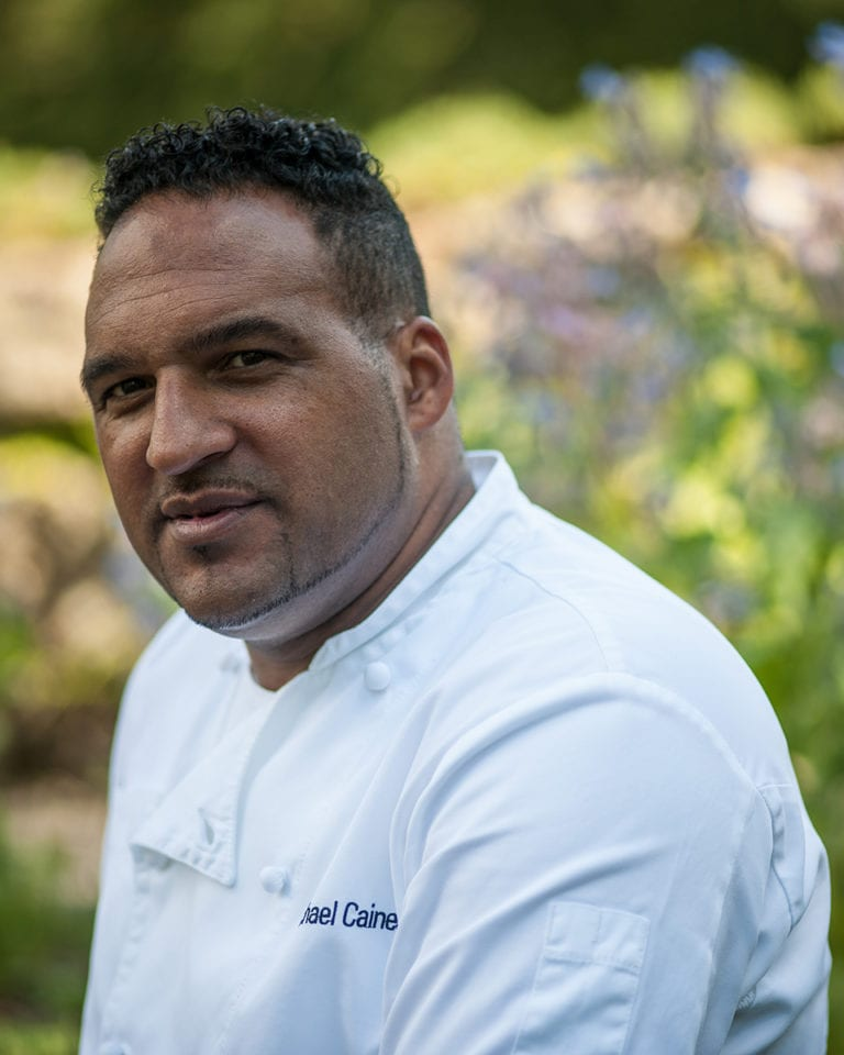 Five minutes with Michael Caines MBE