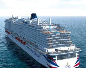 Win a dream holiday with P&O Cruises, plus £1,000 spending money