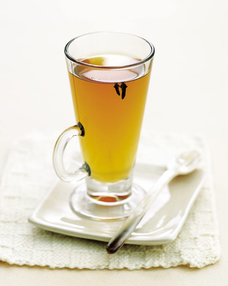 Apple tea hot toddy