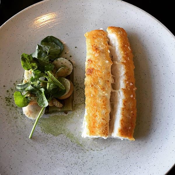 Fiskebare's pan-fried hake