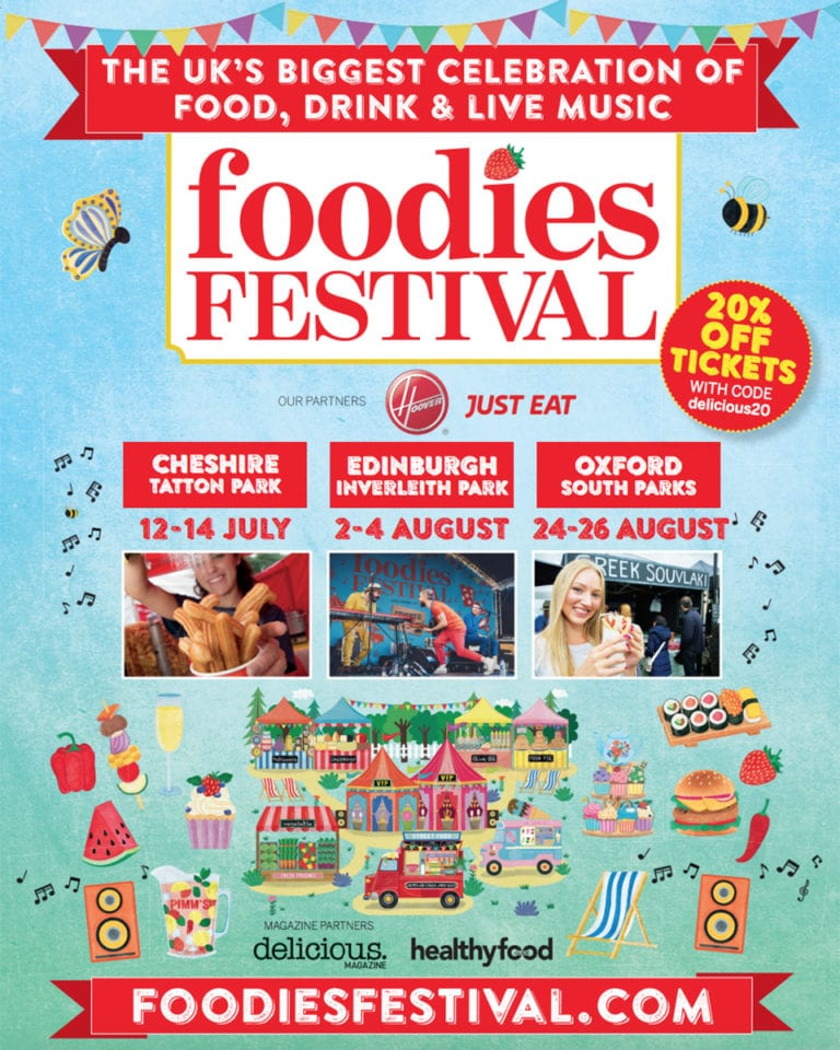 Win VIP tickets to Foodies Festival