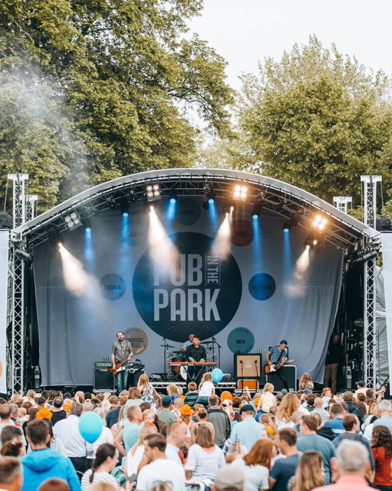 Win a VIP Pub in the Park experience