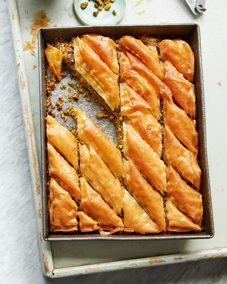 The Very Best Baklava Recipe Delicious Magazine