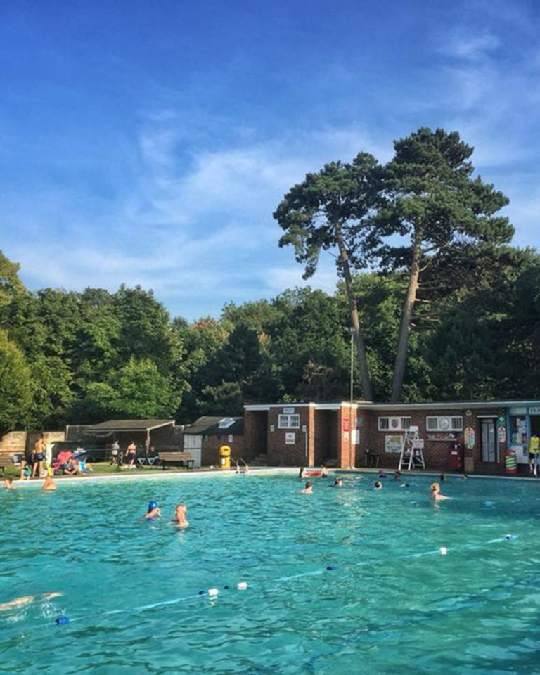 Outdoor swimming: the best food-friendly lidos in the UK