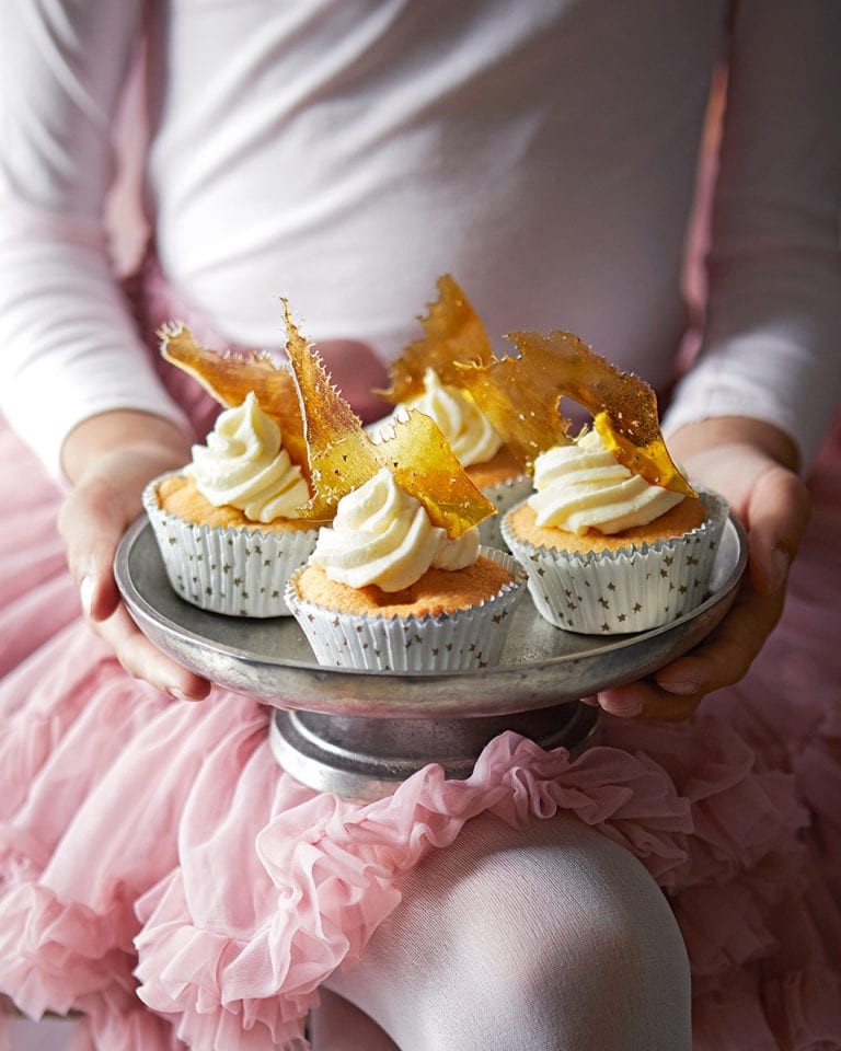 Sugarplum fairy cakes