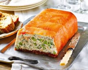 Salmon starter - terrine