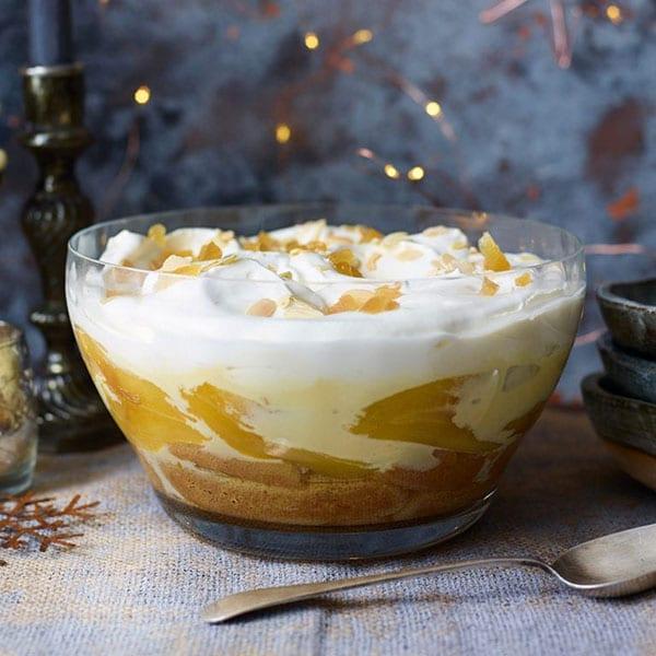 Pear trifle
