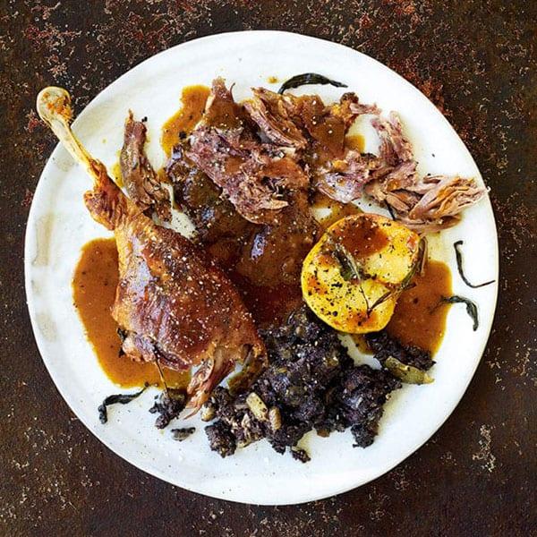 Gill Meller's roast goose