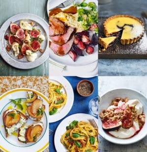 4 three-course menus for September