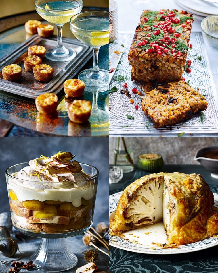 Vegetarian Christmas Dinner Menu.A Christmas Day Lunch Menu And Time Plan Delicious Magazine