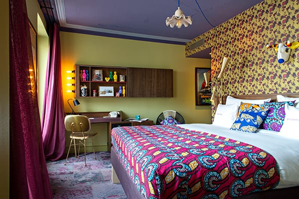 Room at 25 Hours Hotel Paris