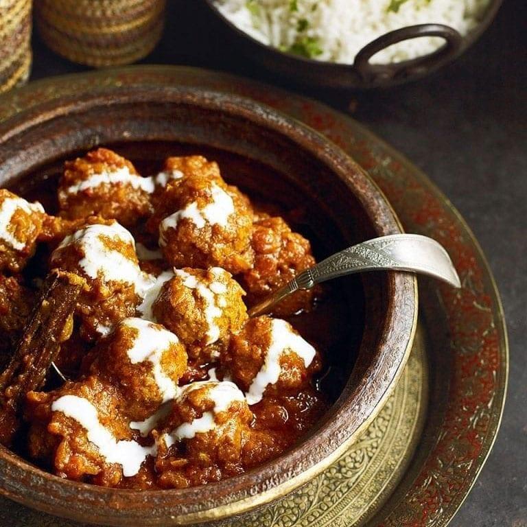lamb kofte curry