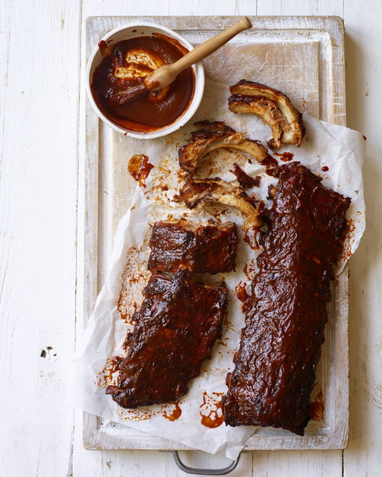 Slow Cooked Baby Back Pork Ribs Recipe Delicious Magazine