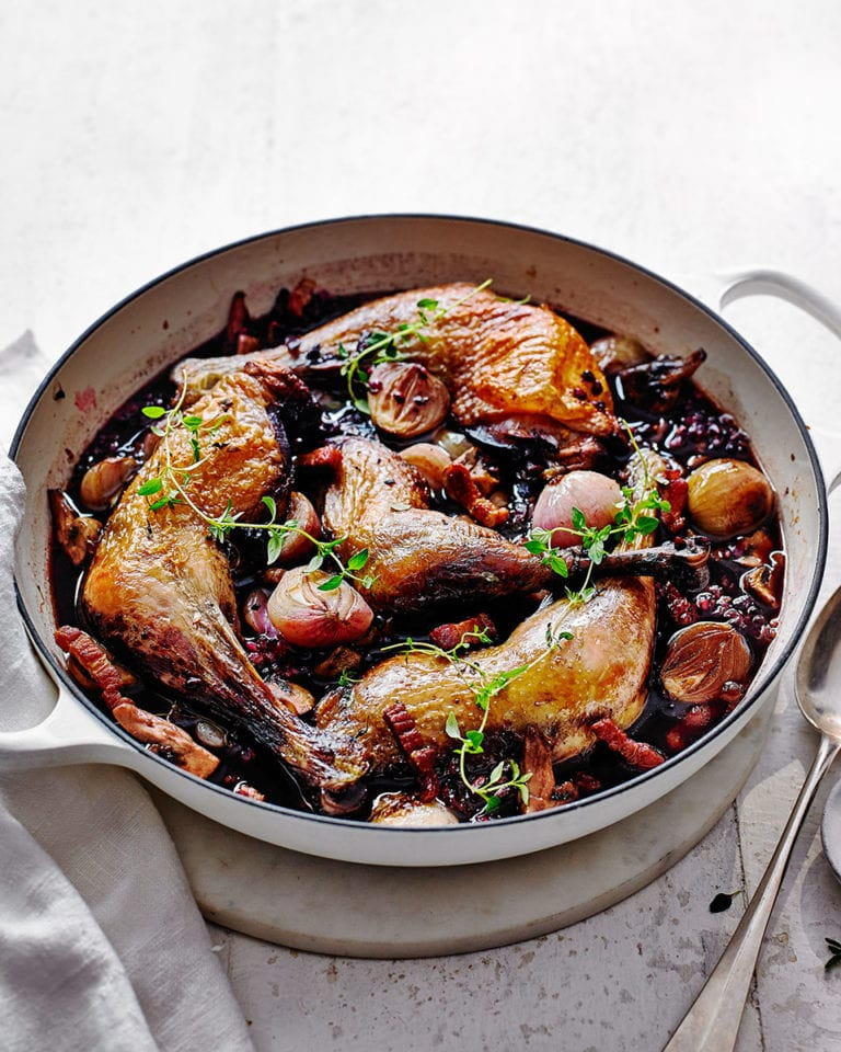 Easy Coq Au Vin Recipe Delicious Magazine