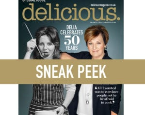 Take a look at who's on the October cover of delicious. magazine!