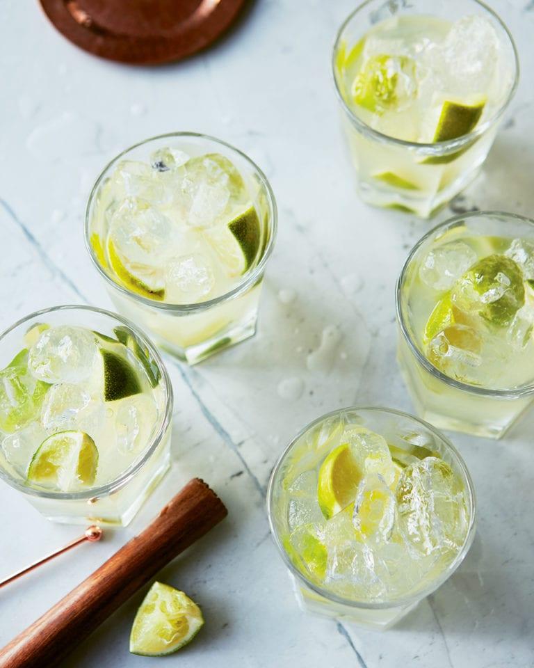 Gin caipirinha