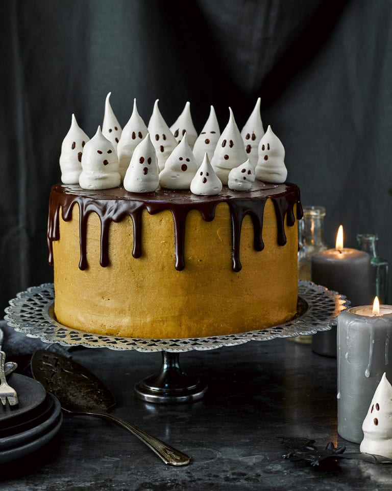 Halloween celebration cake