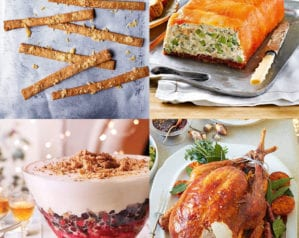 Make-ahead Christmas menu