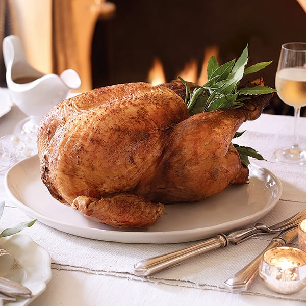spiced roast turkey
