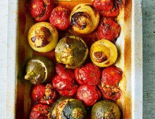 Gemista (roast stuffed veg)