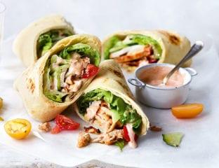 Quick chicken kebabs