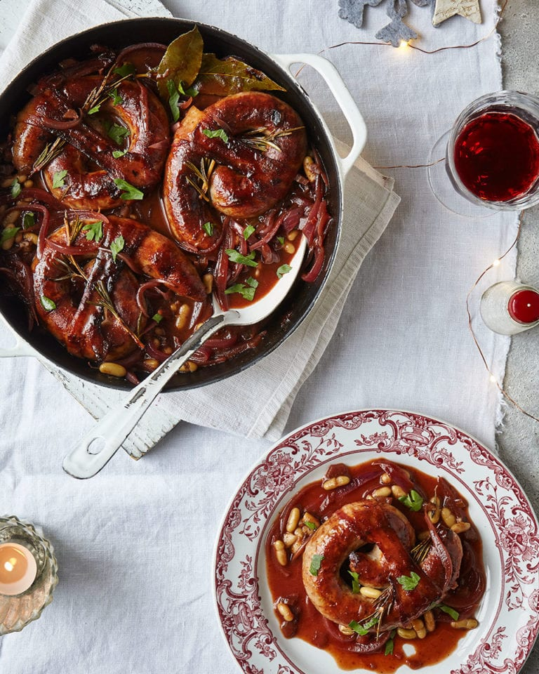 Bloody mary sausage casserole