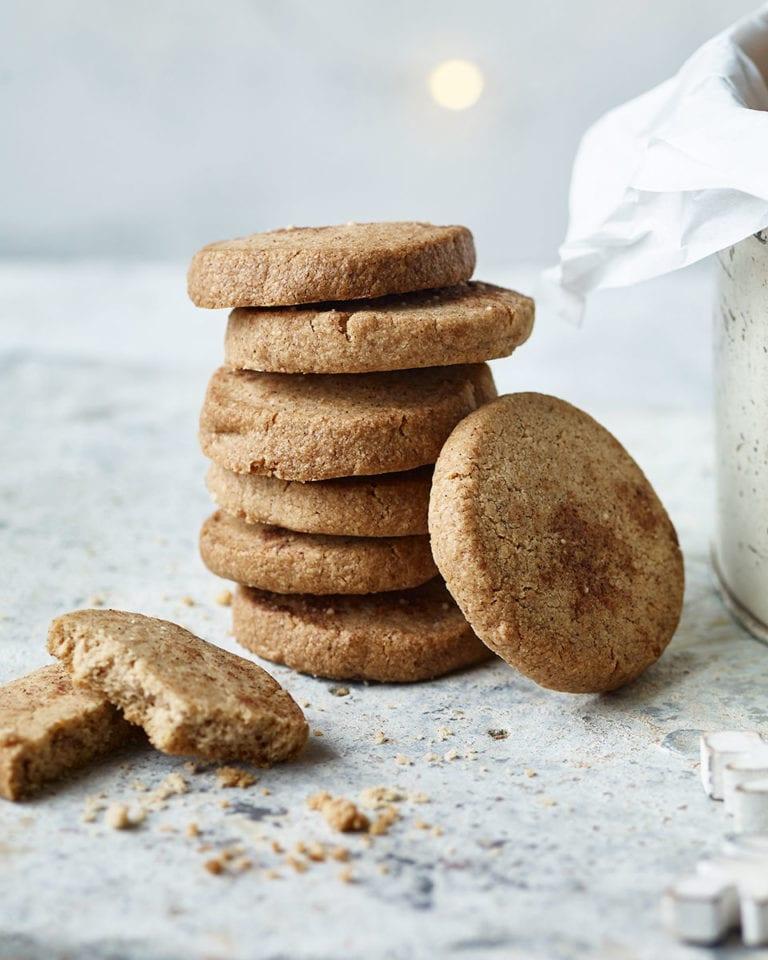 Slice-and-bake Christmas cookies