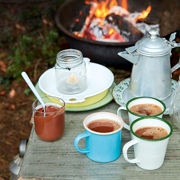 hot chocolate with s'mores