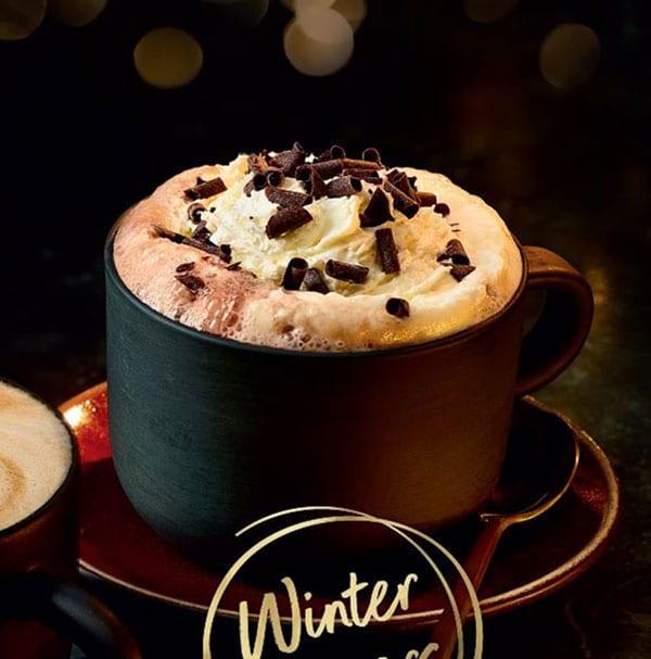 M&S orange hot chocolate