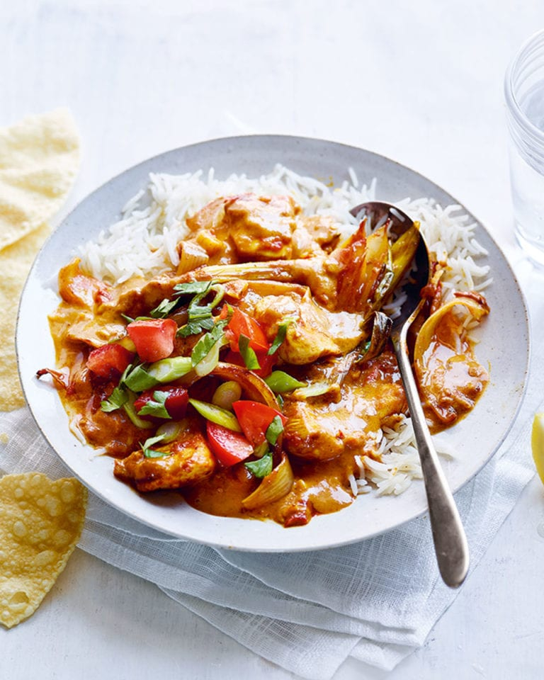 The ultimate creamy chicken korma