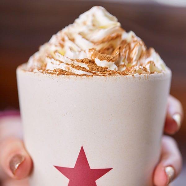 Pret hazelnut hot chocolate