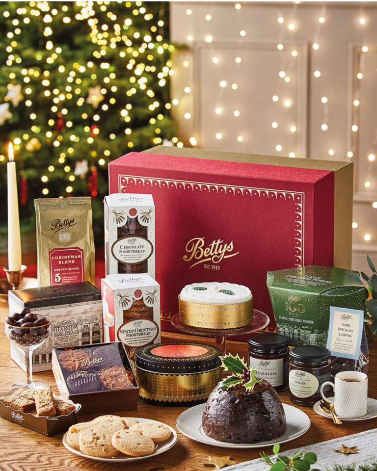 12 hampers of Christmas: WIN a Bettys Christmas hamper