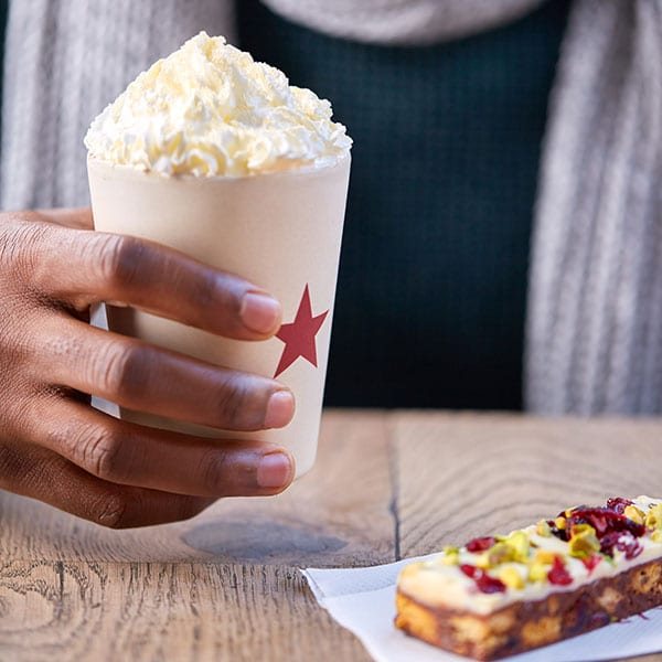 Pret crème brûlée latte