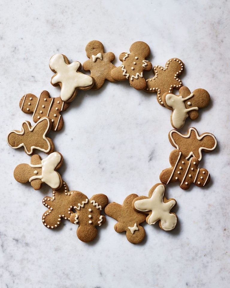 Easy gingerbread people
