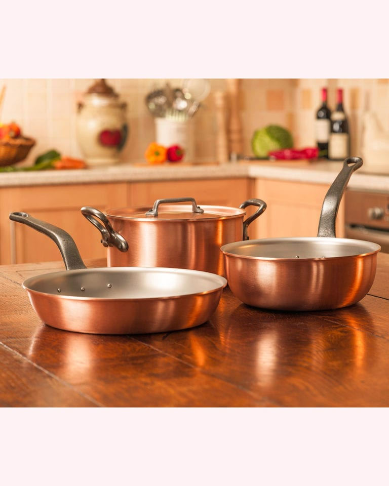 Win a stunning copper cookware set worth £640