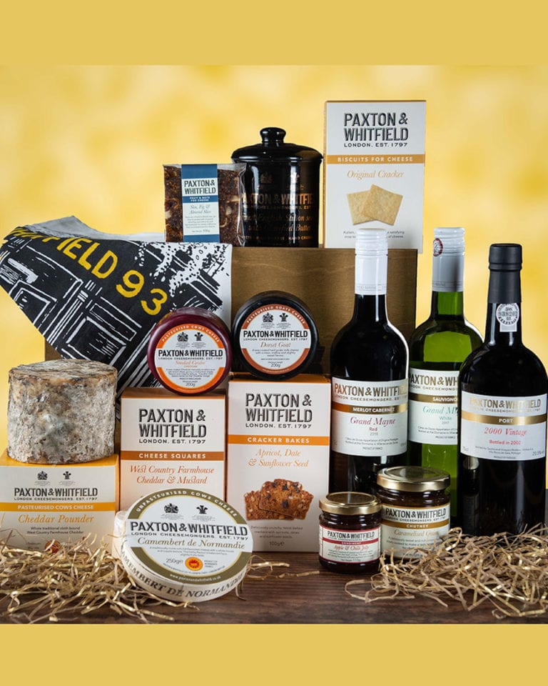 12 hampers of Christmas: WIN a Paxton & Whitfield hamper