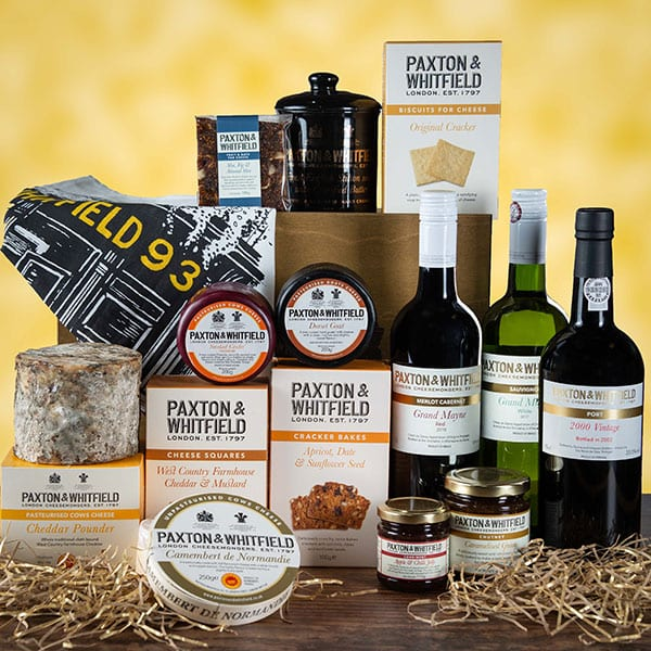 Win a Paxton & Whitfield hamper
