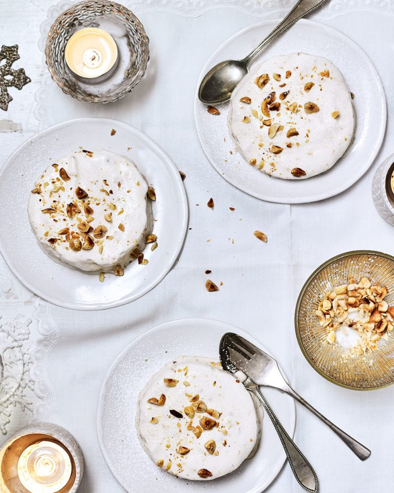 Baileys and hazelnut parfaits