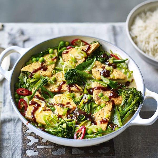 thai tofu curry