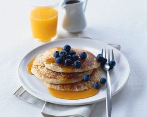Healthier pancake recipes