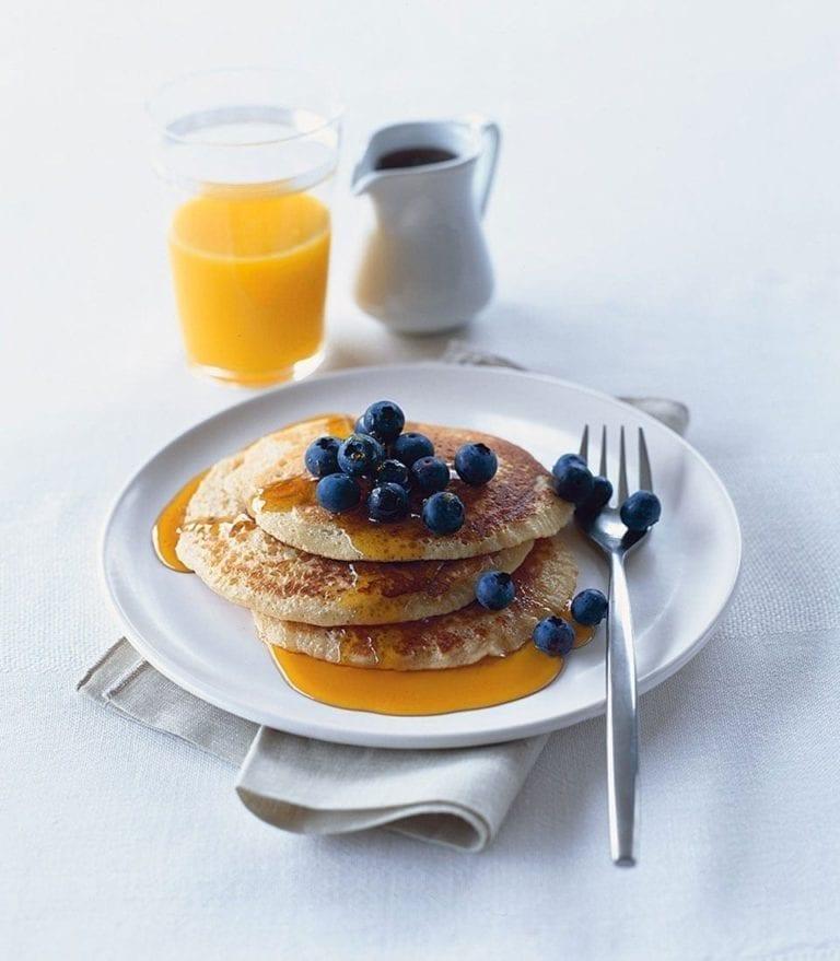 Healthier pancake recipes
