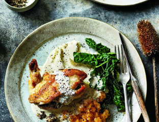 Chicken balmoral