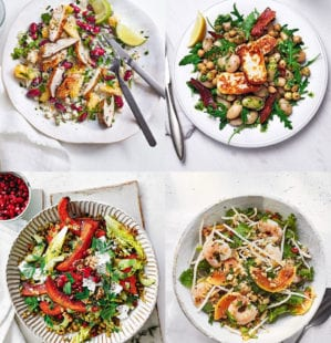 17 salad recipes for a healthy packed lunch